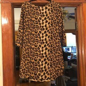 Leopard dress!